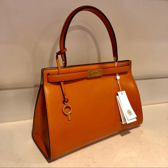 86b8de56fc4 Handbags - 🧡TORY BURCH LEE RADZIWILL LARGE SATCHEL 🧡